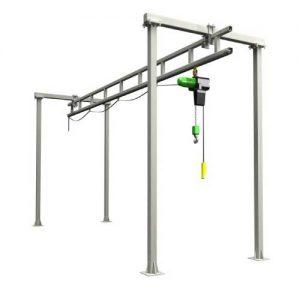 Free Standing Top Braced Top Running Crane